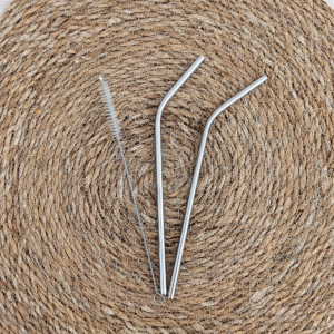 pailles réutilisables inox zéro déchet