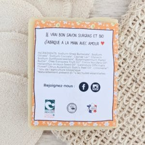 savon bio calendula lait de chèvre