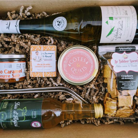 La Besace Verte box cadeau entreprise